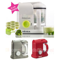 NEW BEABA BABYCOOK SOLO BABY FOOD PROCESSOR STEAM COOK BLEND + MULTI PORTION