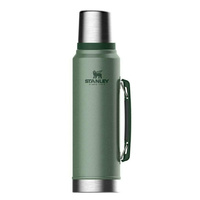 2 PACK X STANLEY CLASSIC 1L INSULATED VACUUM THERMOS FLASK BOTTLE - GREEN