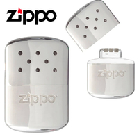 Zippo Deluxe 12 Hour Refillable Hand Warmer , Polished Chrome