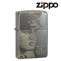 New Zippo Elvis Presley Military 50th Anniversary Of US Army Induction Lighter