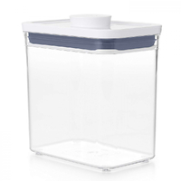 OXO GOOD RECTANGLE SHORT 1600ml AIR TIGHT 1.6L POP 2.0 CONTAINER