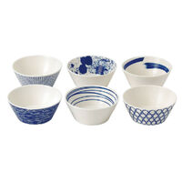 New Royal Doulton 6pc Pacific 11cm Bowl Set of 6