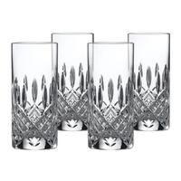 Marquis By Waterford Markham Crystalline Hi Ball Glasses 384ml , Set Of 4 Glasses