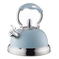 TYPHOON LIVING STOVE OTTO WHISTLING KETTLE 2.5L SUITS ALL COOK TOPS - BLUE