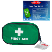 30pc Emergency FIRST AID KIT Medical Travel Set Workplace Family Safety Office