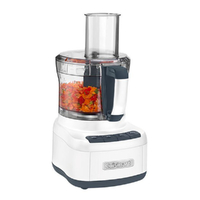 New Cuisinart Food Processor 8 Cup White