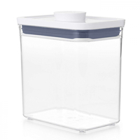 OXO 1.6L POP 2.0 CONTAINER 1600ml AIR TIGHT RECTANGLE SHORT