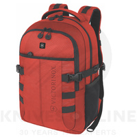 NEW VICTORINOX VX CADET BACKPACK BAG TRAVEL LAPTOP TABLET RED