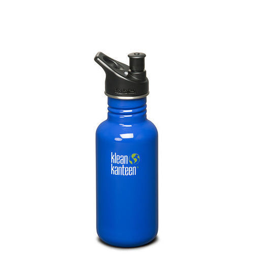 KLEAN KANTEEN Original 18oz  532ml Ocean Blue BPA Free Water Bottle