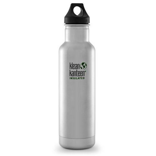 KLEAN KANTEEN CLASSIC INSULATED 20oz 592ml STAINLESS BPA FREE Water Bottle