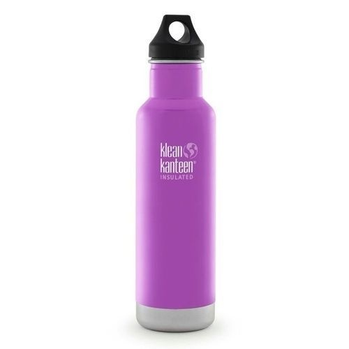 KLEAN KANTEEN CLASSIC INSULATED 20oz 592ml MEADOW FLOWER BPA FREE Water Bottle