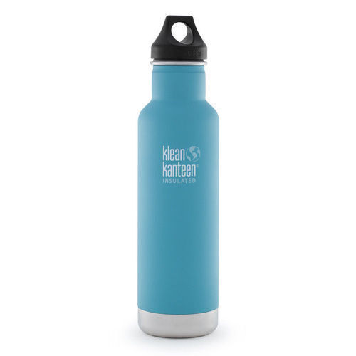 KLEAN KANTEEN CLASSIC INSULATED 20oz 592ml QUIET STORM BPA FREE Water Bottle