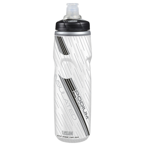 CAMELBAK PODIUM BIG CHILL INSULATED 750ML BPA FREE BIKE WATER BOTTLE - CARBON CB52467