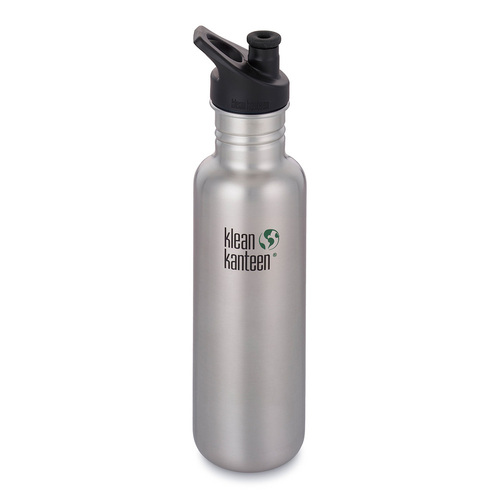 KLEAN KANTEEN 27oz 800ml Brushed Stainless BPA FREE WATER BOTTLE