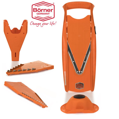 BORNER V5 V SLICER POWER ORANGE 5PC SET GERMAN