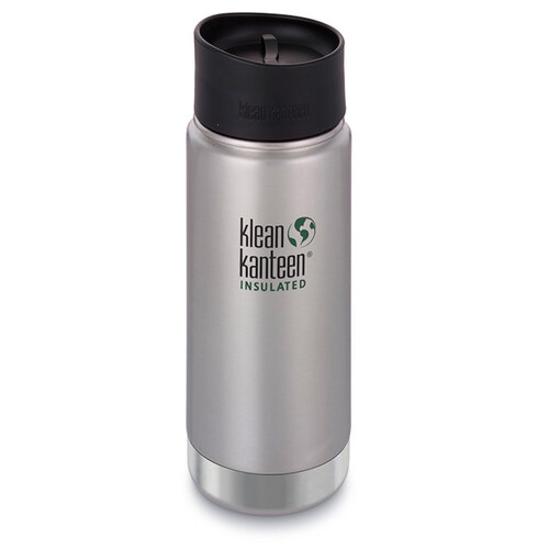 KLEAN KANTEEN INSULATED WIDE 16oz 473ml Stainless BPA Free Water Bottle SAVE