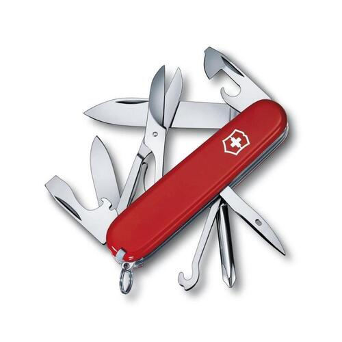 New Victorinox Super Tinker Swiss Army Pocket Knife - 14 Functions