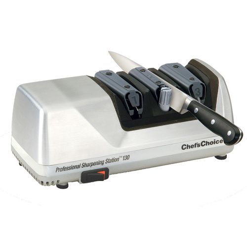 New Chef's Choice Pro Electric Knife Sharpener SILVER 130 EdgeSelect AUS STOCK
