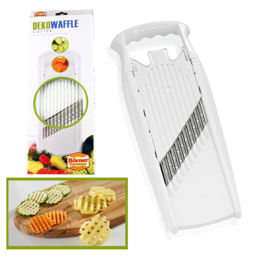 BORNER V SLICER WAFFLE DEKO ACCESSORIES GERMAN