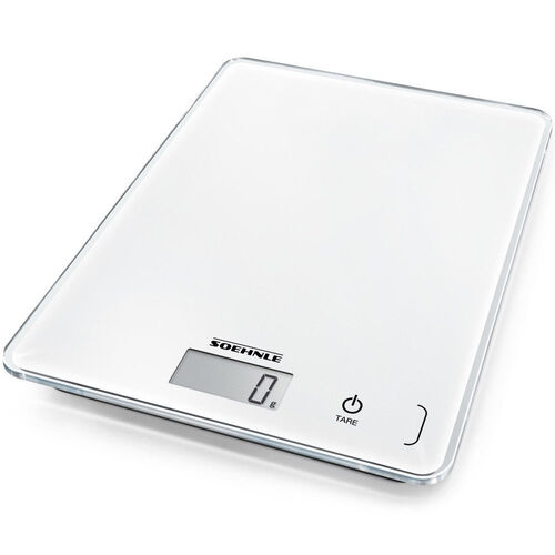 SOEHNLE PAGE COMPACT 300 5KG / 1G CAPACITY DIGITAL WHITE KITCHEN SCALE 61501