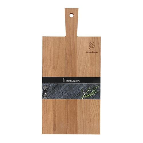 NEW STANLEY ROGERS 56196 THERMO BEECH PADDLE BOARD WOOD CHOPPING BOARD 450x210x18