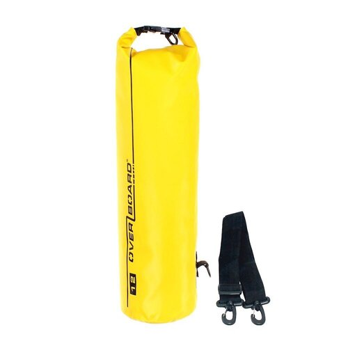 New OVERBOARD YELLOW 12L Dry Tube Waterproof Bag Sailing Bag AOB1003Y