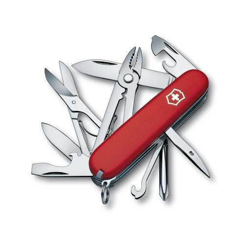 NEW SWISS ARMY DELUXE TINKER VICTORINOX MULTITOOL 35697 FREE POST POCKET KNIFE