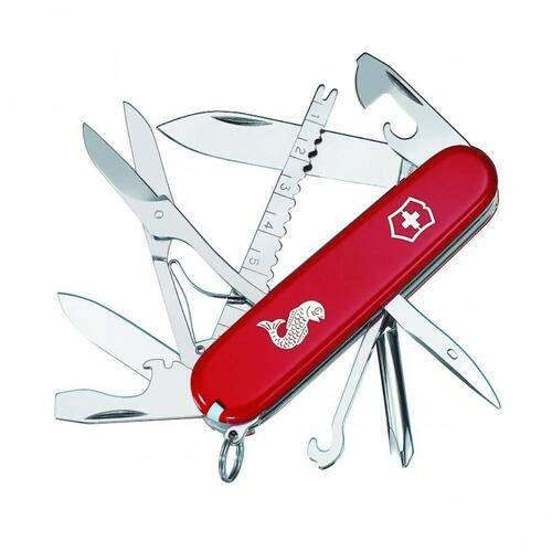 New Victorinox Fisherman Swiss Army Pocket Knife - 18 Functions