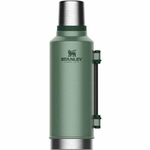 STANLEY CLASSIC Vacuum Insulated 1.9L GREEN Flask Thermos Bottle