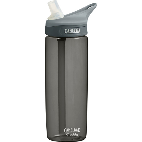 CAMELBAK EDDY .6L 600ML BPA FREE SPILL PROOF WATER BOTTLE - CHARCOAL SAVE!