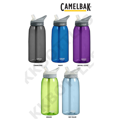 CAMELBAK EDDY 1L 1000ML BPA FREE SPILL PROOF WATER BOTTLE- 5 COLOURS TO SELECT