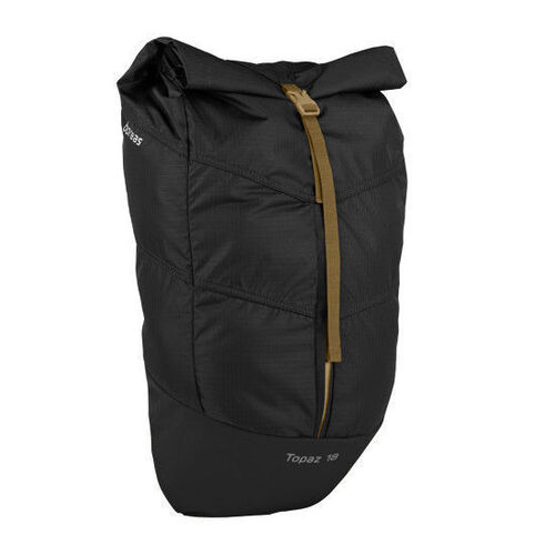 BOREAS TOPAZ 25L ROLL TOP DAYPACK FOR CYCLING WALKING BLACK