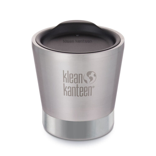 New KLEAN KANTEEN 8oz 237ml VACUUM INSULATED TUMBLER BRUSHED STAINLESS