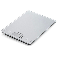 NEW SOEHNLE PAGE COMFORT 100 5KG / 1G CAPACITY DIGITAL KITCHEN SCALE SILVER 61502