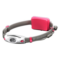 LED LENSER NEO6R Head Torch RECHARGEABLE Headlamp  - PINK 240 Lumens